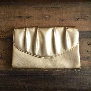 '60s / Gold Evening Clutch